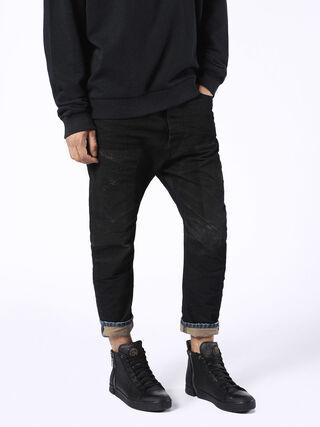 NARROT 0857E, Black Jeans