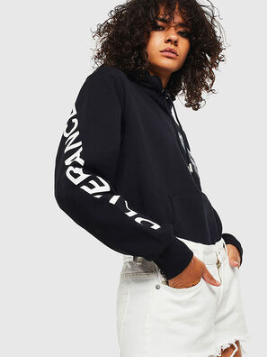 S-GIRK-HOOD-S4, Black - Sweaters