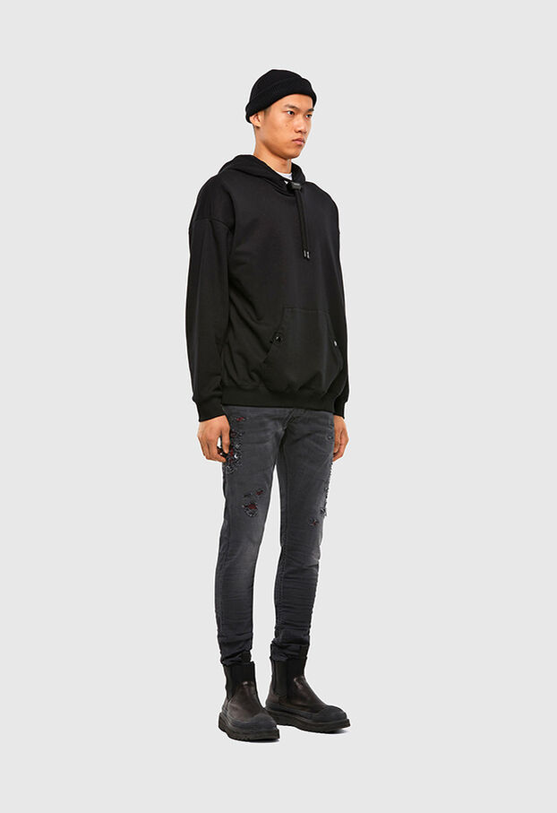 KROOLEY JoggJeans® 069RA, Black/Dark grey - Jeans