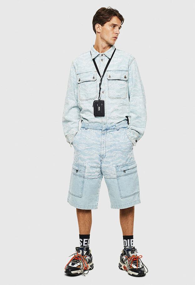 D-LUK-SHORT, Light Blue - Shorts
