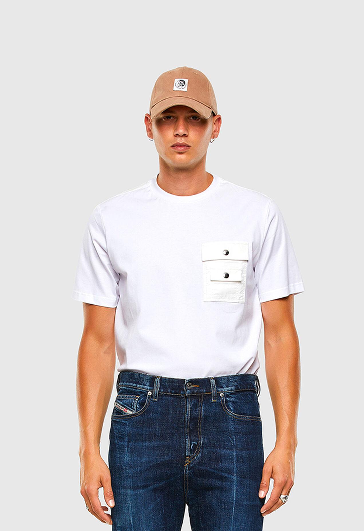 T-TASK-SLITS, White - T-Shirts