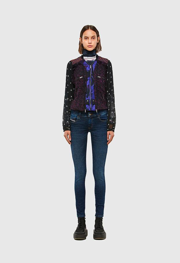 Slandy Low 069PX, Dark Blue - Jeans