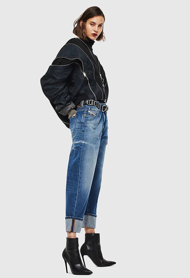 D-Reggy 0097B, Medium blue - Jeans
