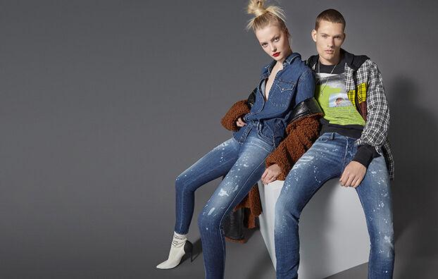 Sleenker 0091Y, Medium blue - Jeans