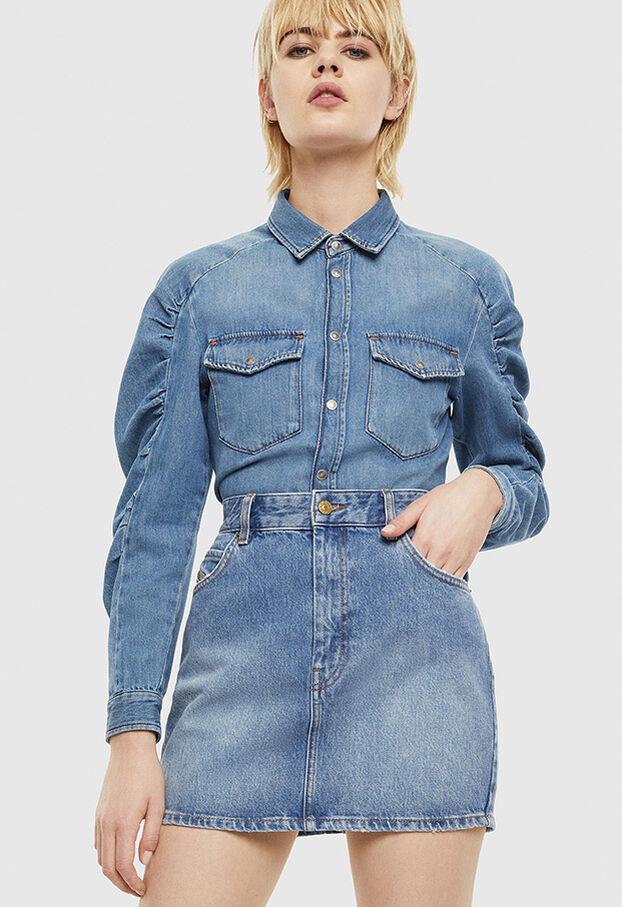 DE-RINGY-R, Light Blue - Denim Shirts