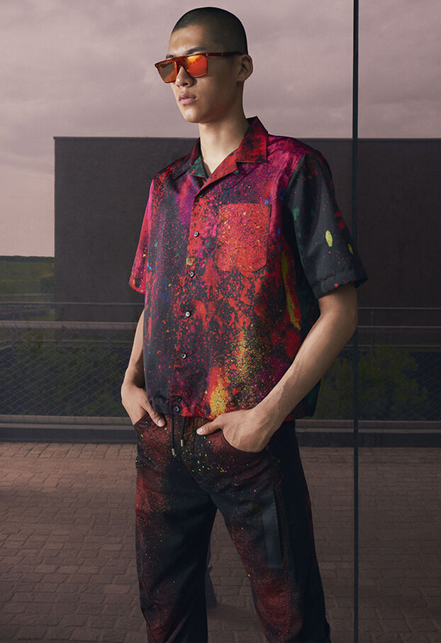S-MOOL, Red/Black - Shirts