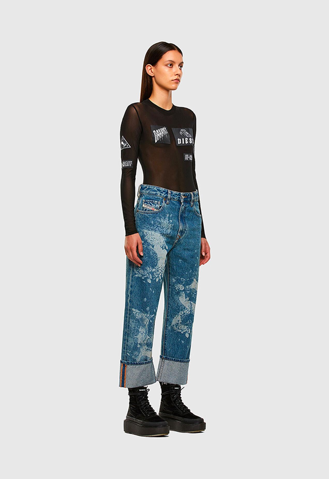 D-Reggy 0079H, Medium blue - Jeans