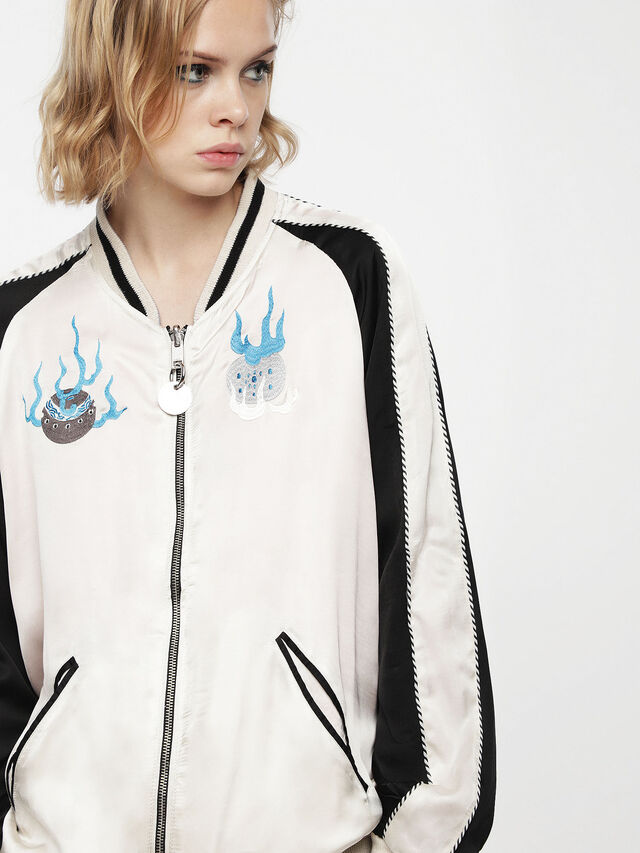 Diesel - G-FRANK-A, Off White - Jackets - Image 1