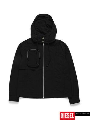 ACW-SH03, Black - Denim Shirts