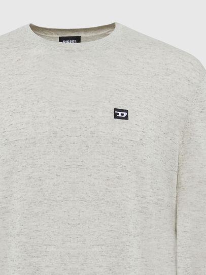 Diesel - K-CROFT-TOMI, Light Grey - Knitwear - Image 3
