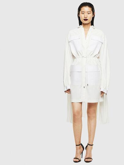 Diesel - D-TEAR, White - Dresses - Image 1