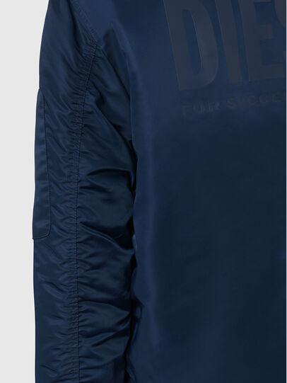 Diesel - J-ROSS-REV, Blue - Jackets - Image 8