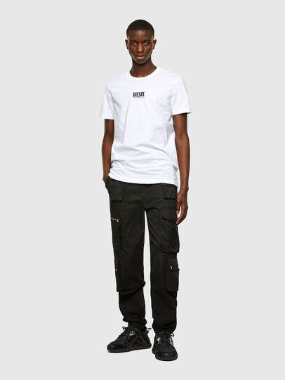 Diesel - T-DIEGOS-SMALLOGO, White - T-Shirts - Image 4