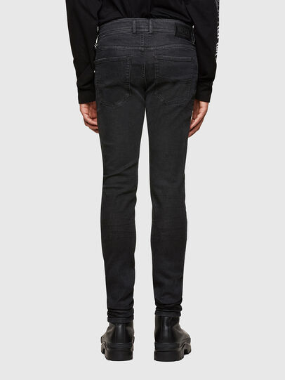 Diesel - Sleenker 009LY, Black/Dark grey - Jeans - Image 2