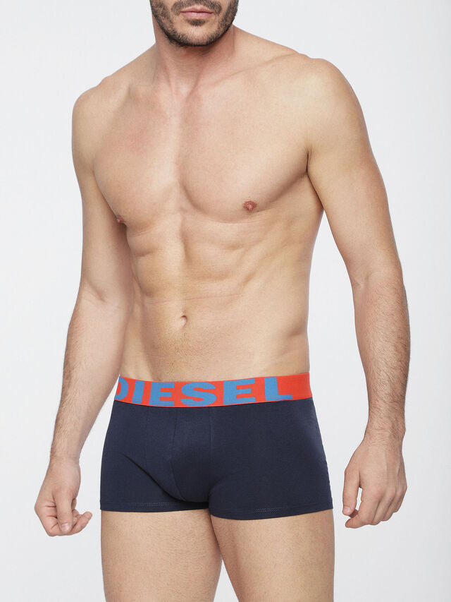 Diesel UMBX-SHAWNTHREEPACK, Blue/Orange - Trunks - Image 2