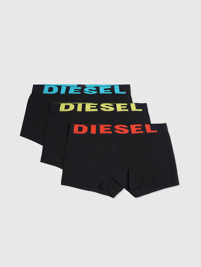 Diesel - UMBX-SHAWNTHREEPACK, Bright Black - Trunks - Image 1