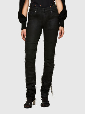 TYPE-1006, Black/Dark grey - Jeans