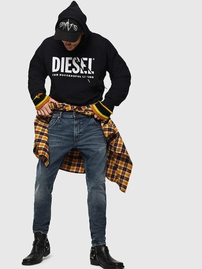 Diesel - Krooley JoggJeans 0870W, Medium blue - Jeans - Image 5