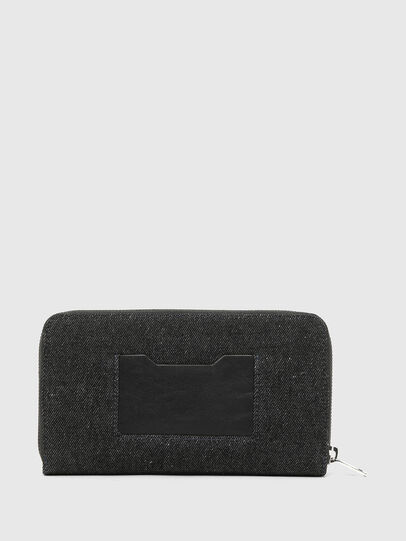 Diesel - GRANATO LC, Blue/Black - Zip-Round Wallets - Image 2