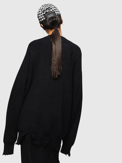 Diesel - M-JENNY, Black - Knitwear - Image 2