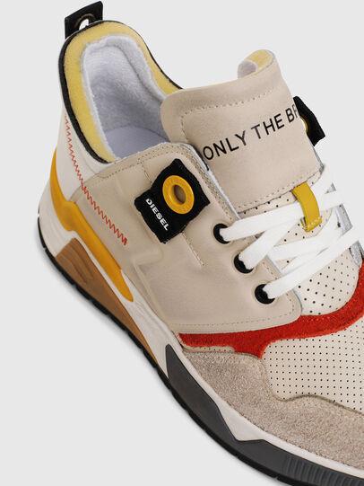 Diesel - S-BRENTHA LC, White - Sneakers - Image 5