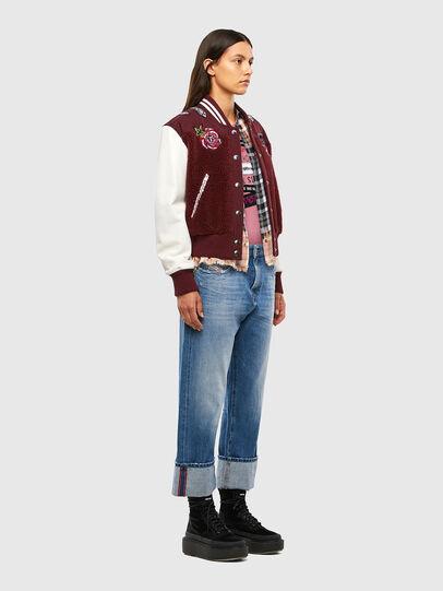 Diesel - L-KOLT, Violet - Leather jackets - Image 8