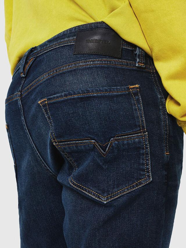 Diesel - Larkee-Beex 087AS, Dark Blue - Jeans - Image 4