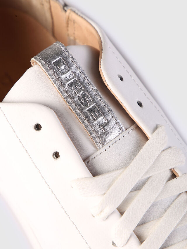 Diesel S-NENTISH LC W, White - Sneakers - Image 4