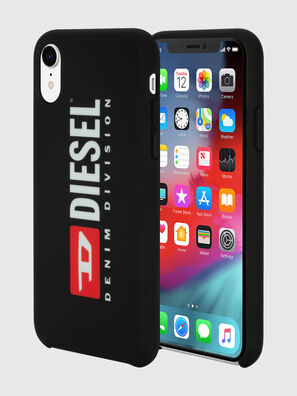 DIESEL PRINTED CO-MOLD CASE FOR IPHONE XR, Black/White - Cases
