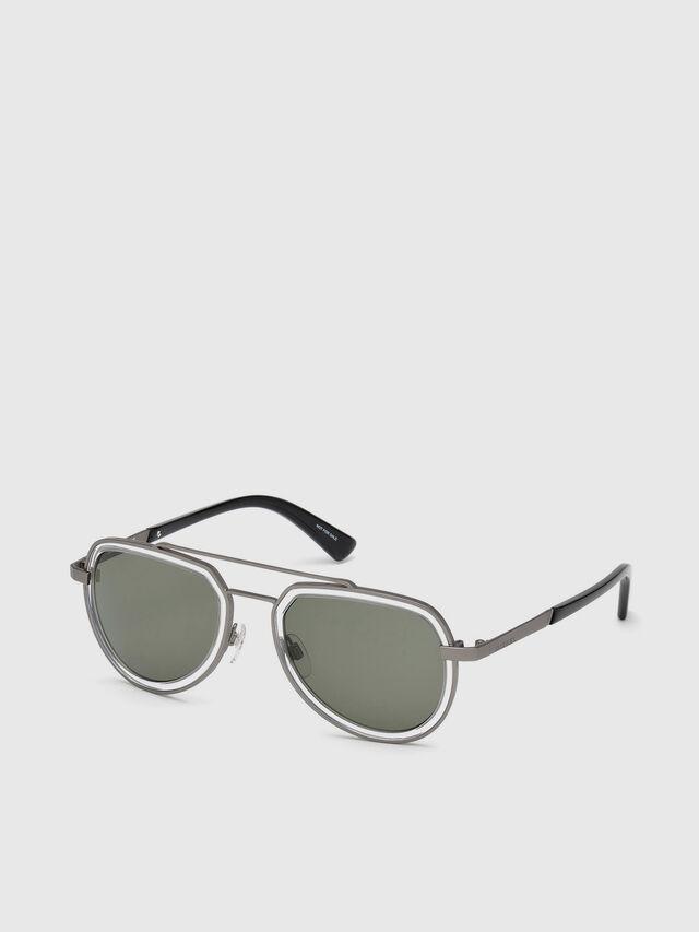 Diesel - DL0266, Black/Grey - Sunglasses - Image 2