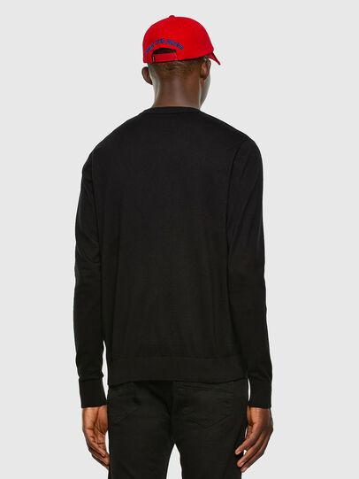 Diesel - K-FREEX-B, Black - Knitwear - Image 5