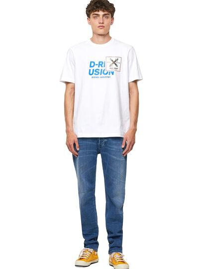 Diesel - T-JUST-B62, White - T-Shirts - Image 5