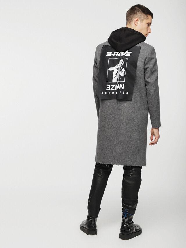 Diesel - W-DEXTER, Grey - Winter Jackets - Image 2