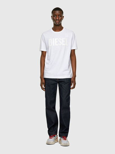 Diesel - T-JUST-INLOGO, White - T-Shirts - Image 4