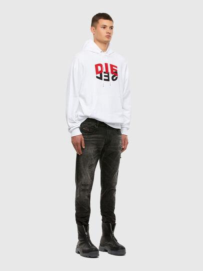 Diesel - S-GIRK-HOOD-N1, White - Sweaters - Image 7