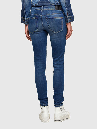 Diesel - Slandy Low 009PU, Medium blue - Jeans - Image 2