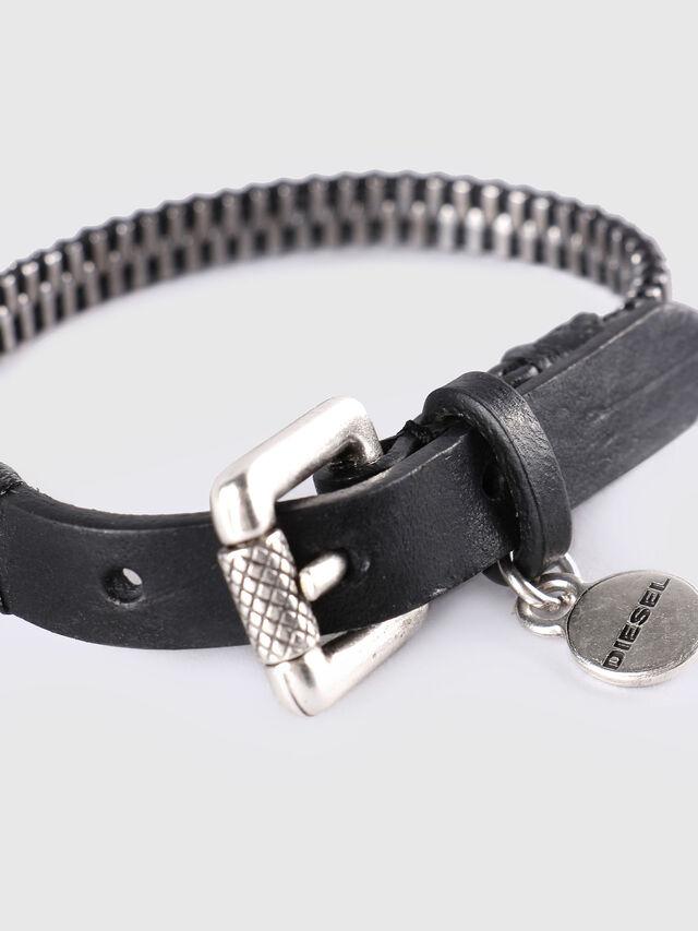 A-ZIPPER, Black/Silver