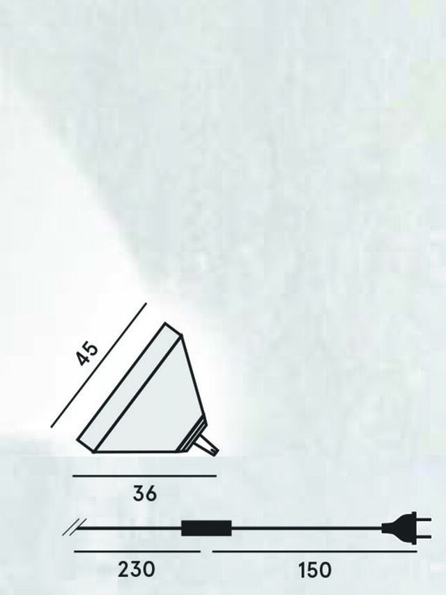 Living DRUMBOX TAVOLO/TERRA, White - Table Lighting - Image 2