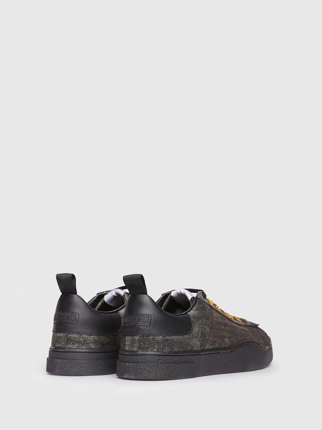 Diesel - S-CLEVER LOW, Anthracite - Sneakers - Image 3