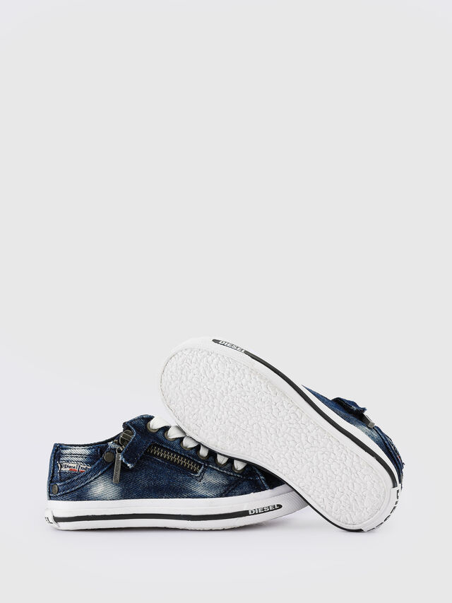 Diesel - SN LOW 25 DENIM EXPO, Blue Jeans - Footwear - Image 5