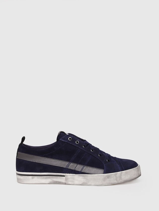 Diesel - D-VELOWS LOW LACE, Dark Blue - Sneakers - Image 1