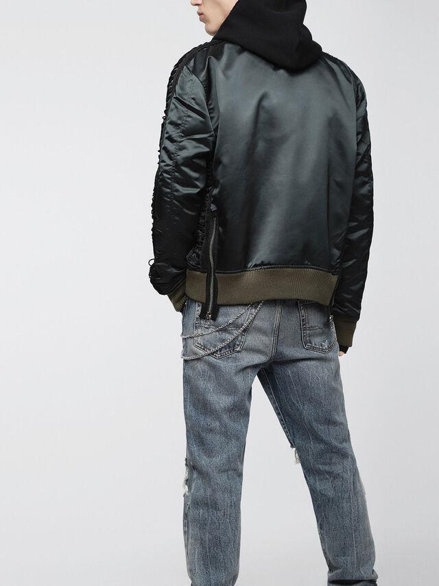 Diesel - J-EARLY, Black/Green - Jackets - Image 2