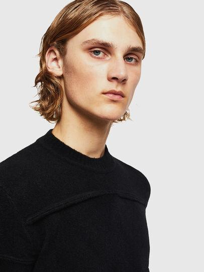 Diesel - KASTORN, Black - Knitwear - Image 4