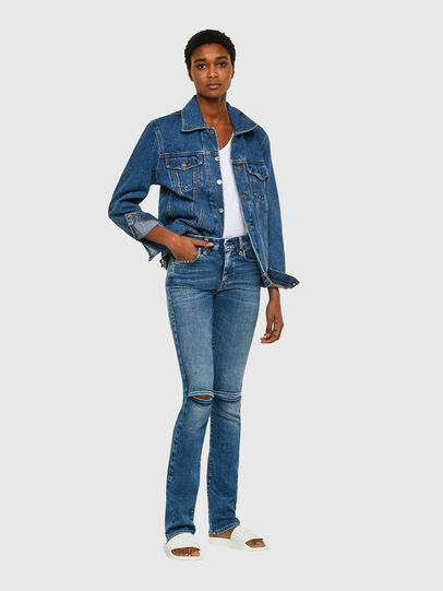 Diesel - Slandy-B 009PT, Light Blue - Jeans - Image 6