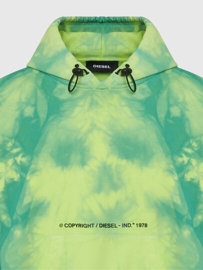 Diesel - S-ALBYEL-X4, Green/Yellow - Sweaters - Image 3