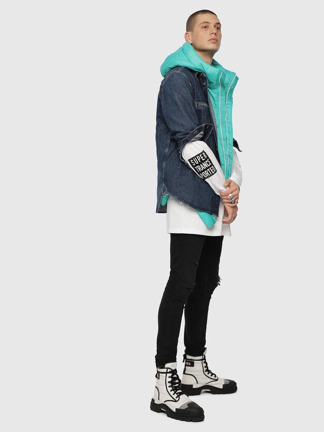 Diesel - D-FRED, Blue Jeans - Denim Shirts - Image 4