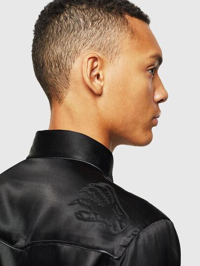 Diesel - S-VEL, Black - Shirts - Image 5