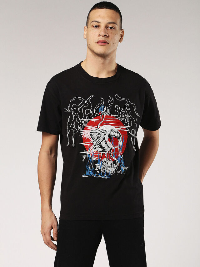 T-WALLACE-SG, Black
