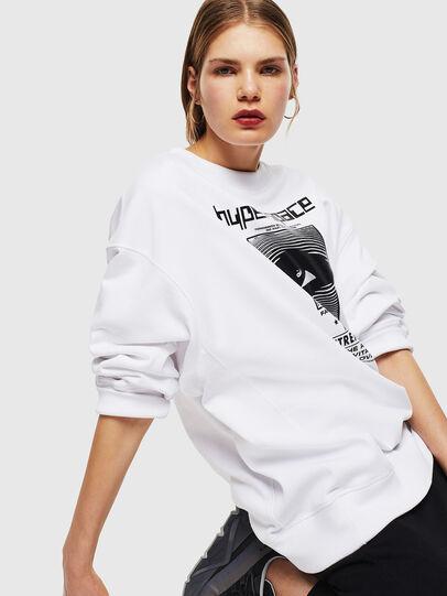 Diesel - F-AKUA, White - Sweaters - Image 5