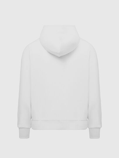 Diesel - S-GIRK-HOOD-K21, White - Sweaters - Image 2
